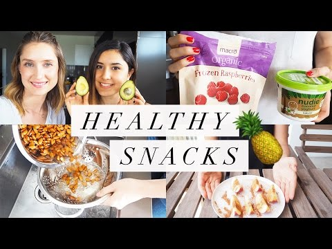 Video Healthy Snack Ideas (Paleo, Gluten-free, Dairy-free!)