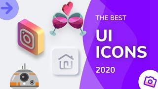 The Best Trendy UI Icons Of 2020   Design Essentials