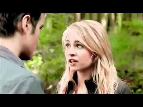 The Secret Circle 1x01 - Adam & Cassie Forest Scene