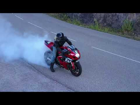 RIDE FOR LIFE . KINGZRIDE . Drone wheeling et burn.life style . Gsxr