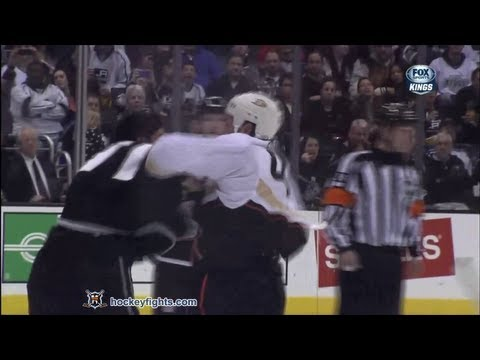 Jordan Nolan vs. Sheldon Souray
