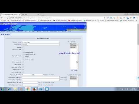 DMA Softlab Radius Manager 4 Installation part 1 - смотреть онлайн