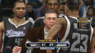 JTG  NBA 2k14 xbox 360 Kings  Warriors full game15