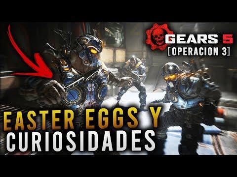 EASTER EGGS Y CURIOSIDADES OCULTOS EN EL NUEVO CONTENIDO DE GEARS 5