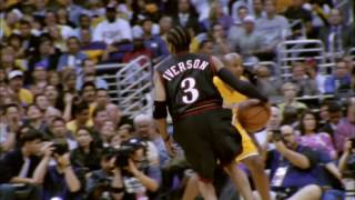 Allen Iverson Greatest Game: 48pts vs the Lakers (2001 NBA Finals Game 1)