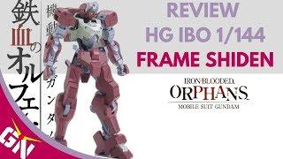 Review: HG IBO 1/144 Frame Shiden