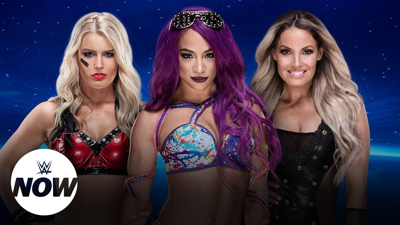 Trish Stratus, Sasha Banks & Toni Storm roundtable interview: WWE Now