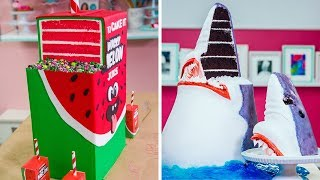 5 Unbelievable Cakes | Juice Box with REAL JUICE Inside | Shark | How To Cake It