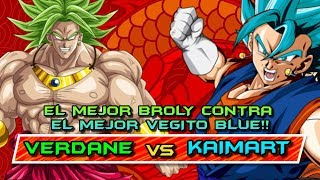 EL MEJOR BROLY y VEGITO del MUNDO se ENFRENTAN!! VERDANE vs KAIMART: DRAGON BALL FIGHTERZ