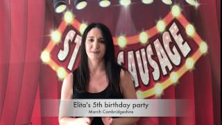 Elita's 5th birthday party