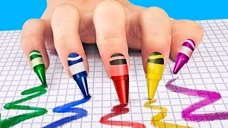 14 лайфхаков для ногтей и маникюра