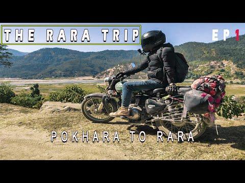 400km in 1day  | RIDE TO RARA  |   | POKHARA | ROYAL ENFIELD  | Mitho vlog