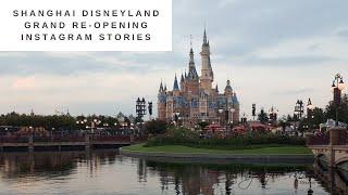 Shanghai Disneyland Grand Reopening   AngeliqueMagique   Instagram Stories