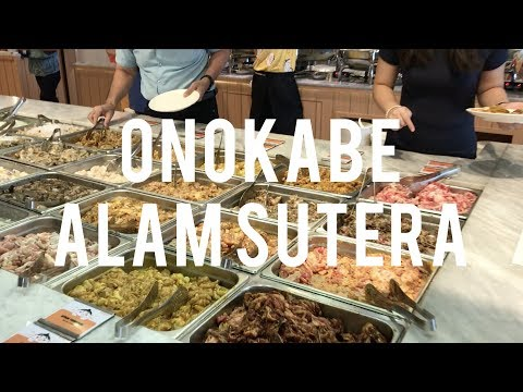 Video Onokabe - All You Can Eat Suki and Grill - Alam Sutera