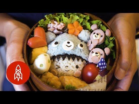 Estas cajas de almuerzo japonesas son muy tiernas