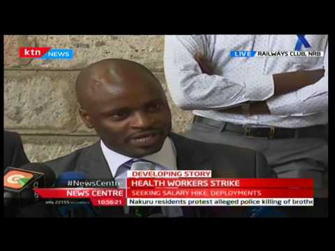 News Centre - 5th December 2016 - Doctor unwilling to negotiate with government