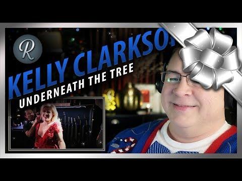 "Kelly Clarkson Reaction | ""Underneath the Tree"""