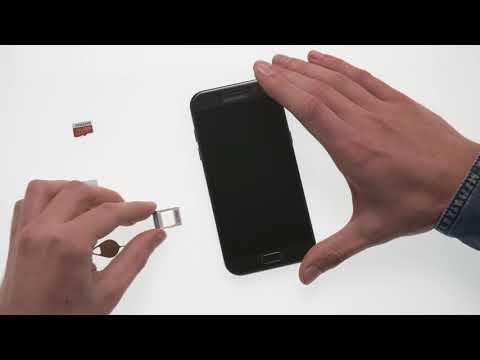 Samsung Galaxy A (2017): microSD- und Nano-SIM-Karte