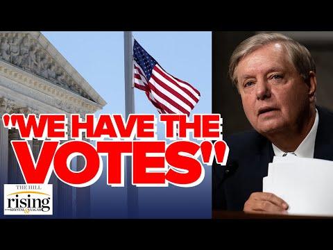 Krystal and Saagar REACT: Lindsey Graham Says GOP HAS THE VOTES To Confirm Trump's SCOTUS Pick