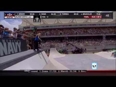 X Games Austin Skate Women's Final | Alana Smith