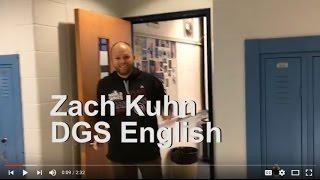 Opening Doors - DGS Zach Kuhn