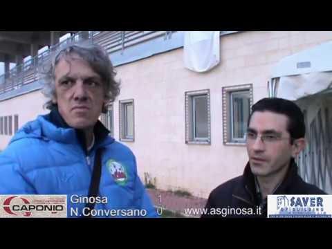 """Preview video GINOSA-Norba CONVERSANO 1-0 Prestazione convincente e vittoria ritrovata al """"T.Miani"""""""