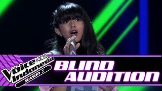 Keva - When We Were Young | Blind Auditions | The Voice Kids Indonesia Season 3 GTV 2018