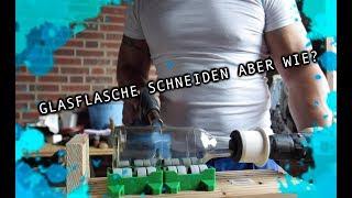 Flasche Schneiden Mit Einem Glasschneider Flaschenboden Richtig Abtrennen