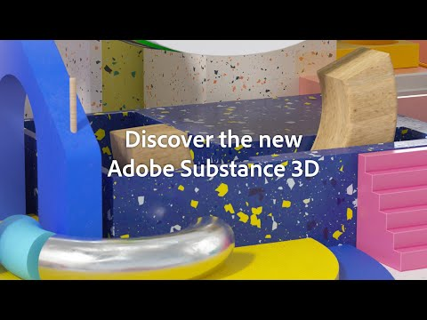 Discover the Adobe Substance 3D Apps