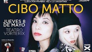 CIBO MATTO - Vivo Argentina (Teatro Vorterix) 08-05-2014
