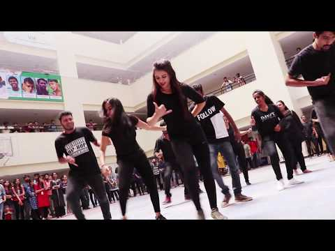 MIME College Flash Mob 2018 Bangalore