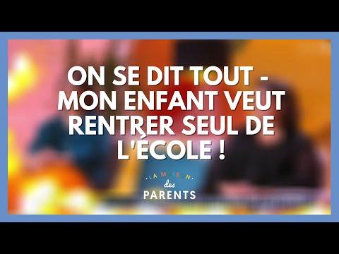 Mon enfant veut rentrer seul de l'école ! On se dit tout ! - La Maison des parents #LMDP