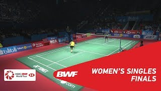 WS | TAI Tzu Ying (TPE) [1] vs CHEN Yufei (CHN) [5] | BWF 2018
