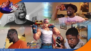 How FGC/SMASH players reacted to Terry Bogard being in Smash Ultimate!
