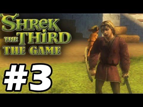 Прохождение Шрек Третий / Shrek The Third - Серия 3 - Стылый пик.