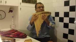 IMAGINE - FLAUTA DE PAN - John Lennon - (notas de zampoña y flauta de pan)
