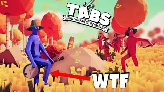 TABS Crazy NEW UNIT!  WTF is That!?  (Totally Accurate Battle Simulator Gameplay - TABS new Update)