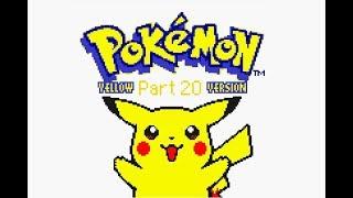 Let's Play: Pokémon Yellow Version! Part 20 - Riding 'round!