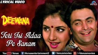 Teri Isi Ada Pe Sanam - Lyrical Video | Best Bollywood