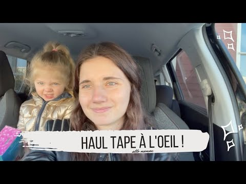 HAUL TAPE À L'OEIL - VLOG