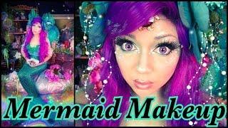Mermaid Makeup Tutorial! | Charisma Star