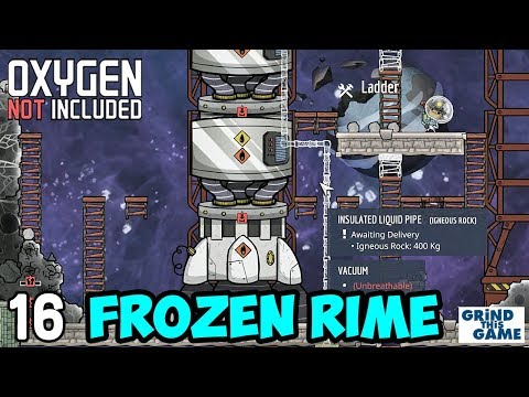 Petroleum Rocket Build on RIME #16 - Oxygen Not Included (Launch Upgrade) [4k]