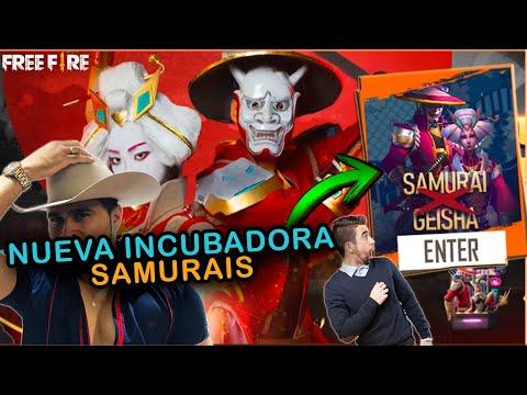 NUEVA INCUBADORA DE SAMURAIS FILTRADA FREE FIRE | Esteban Gonzalez