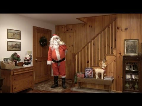 SANTA CLAUS CAUGHT ON VIDEO TAPE