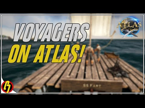 Setting Sail - Raft Crafting & *NEW* Island Exploring! (Ark Atlas