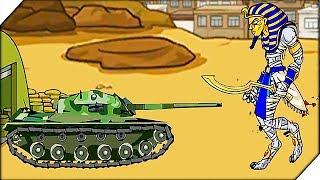 МУМИЯ ВОССТАЛ И НАПАЛА - Age of war 2 Generals прохождение # 7