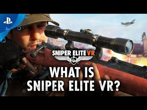 Sniper Elite VR revealed: Release date and gameplay trailer