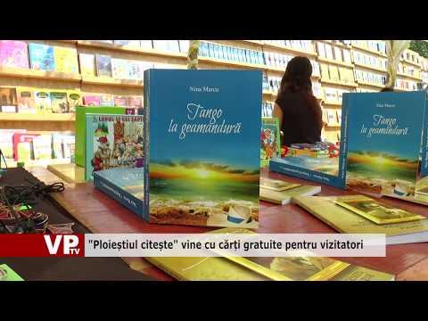 """""""Ploieștiul citește"""" vine cu cărți gratuite pentru vizitatori"""
