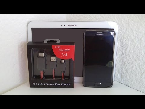 Test MHL GALAXY Note 4 - GALAXY Tab 3 - GALAXY Note Edition 2014