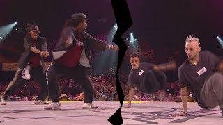 Niako & Icee VS Majid & Ukay - Juste Debout 2017